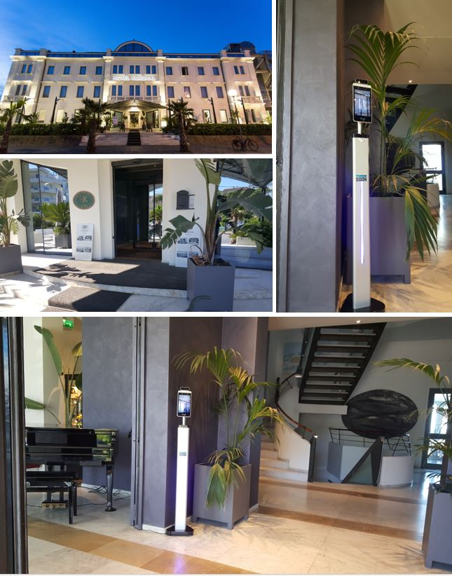 Umpi - Termocamera installata hotel Kursaal